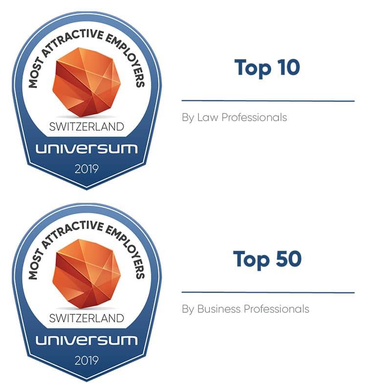 Universum Arbeitgeberstudie Professionals 2019