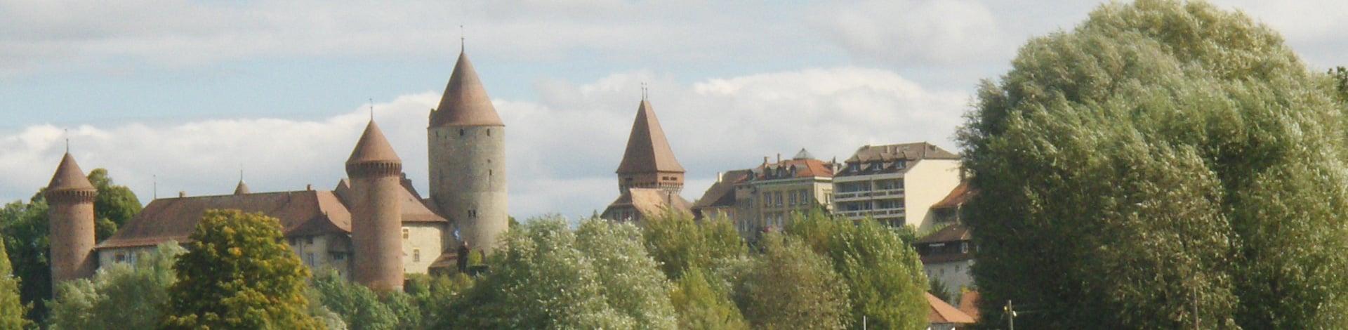 il castello di Broye-Nord Vaudoise
